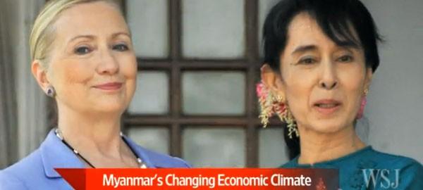 Myanmar economic opening