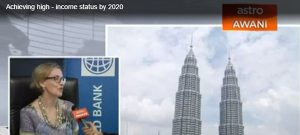 Malaysia achieving high-income status by 2020