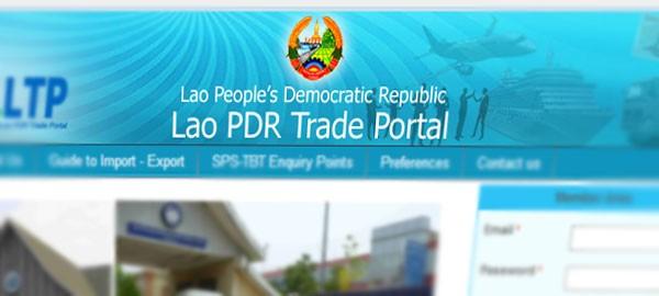 Laos trade portal