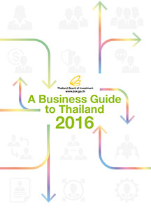 Doing business in Thailand 2016 report