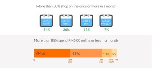 Malaysia e-commerce shoppers