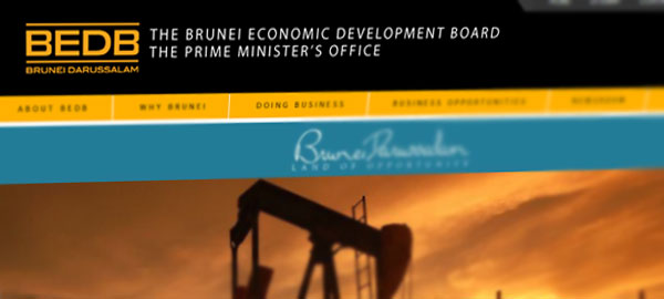 Brunei Economic Development Board website