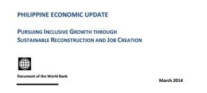 Philippine economy overview 2014