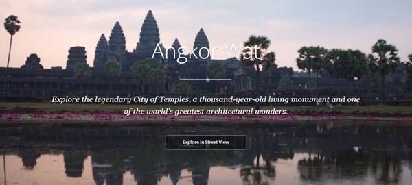 Angkor Wat Google Maps