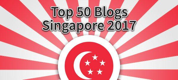 Top 50 Blogs Singapore 2017