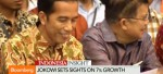 Indonesia's Jokowi targets 7% growth by 2018