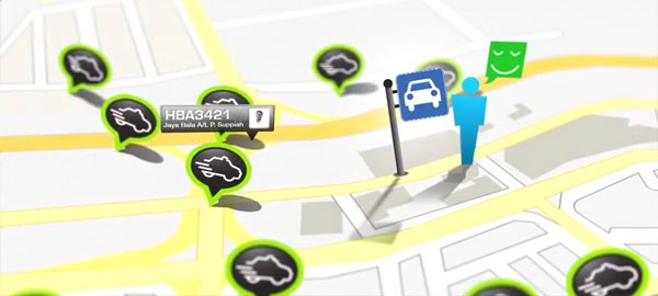 Innovative taxi application in Malaysia