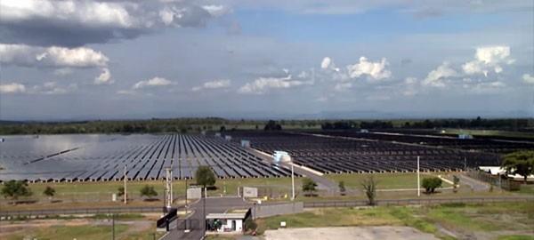 Solar plant in Thailand