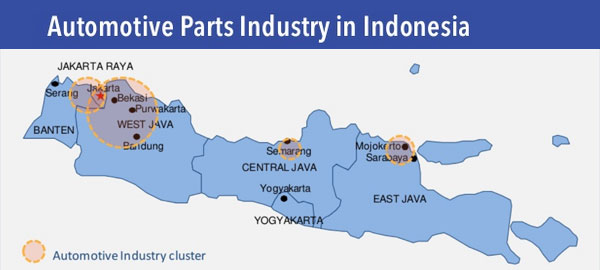 Indonesia's automotive parts industry