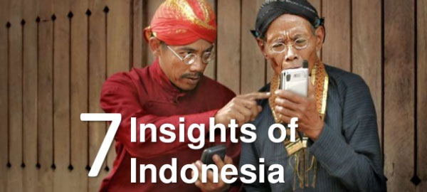 7 digital insights of Indonesia