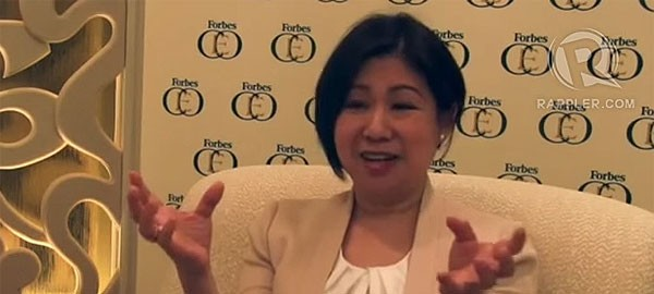 Tessy Sy on ASEAN in the Philippines