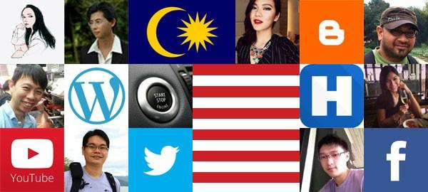 Top bloggers in Malaysia