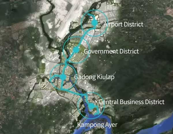 Bandar Seri Begawan's 5 key areas of development