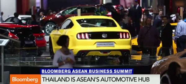 Ford's outlook on the automotive sector in ASEAN and Thailand