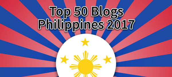 Top 50 Blogs from the Philippines 2017