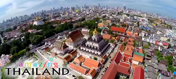 Promoting tourism in Amazing Thailand
