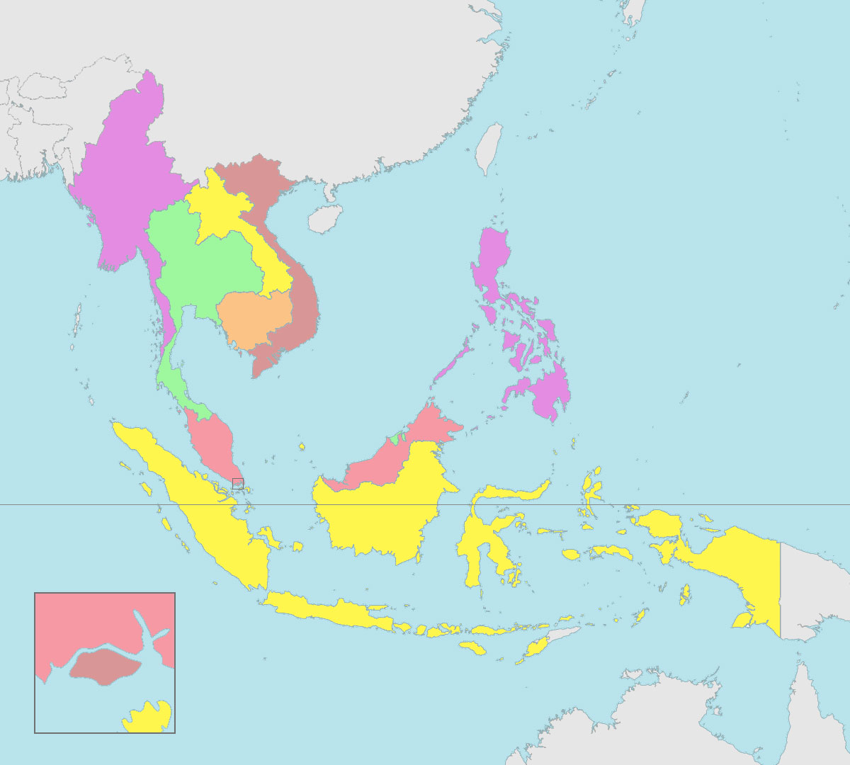 ASEAN map blank ASEAN UP