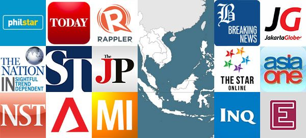 Top 15 news websites from Southeast Asia