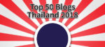 Top 50 Blogs from Thailand 2018