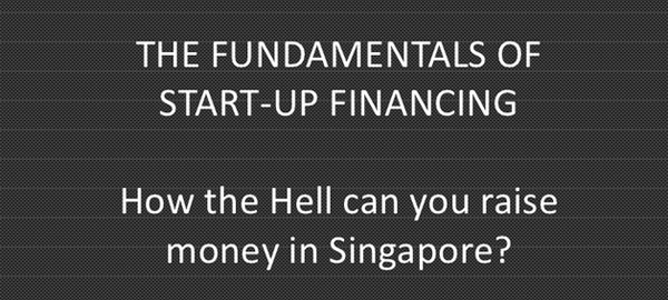 Funding a startup in Singapore