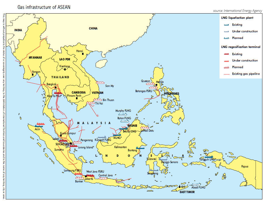 Overview of oil and gas in Southeast Asia ASEAN UP