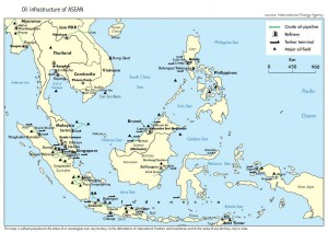 Oil infrastructure of ASEAN