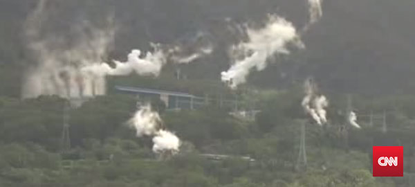 Geothermal plant in the Philippines