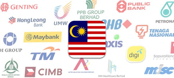 Malaysia's 30 largest listed companies
