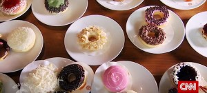 Donuts from Indonesia coffee shop