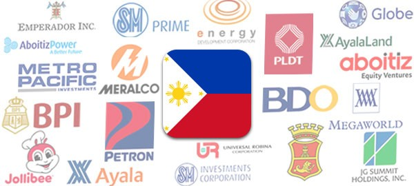 Philippines' 30 largest listed companies