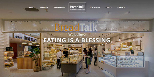 BreadTalk website capture