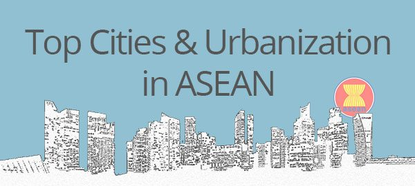 Top cities and urbanization in ASEAN