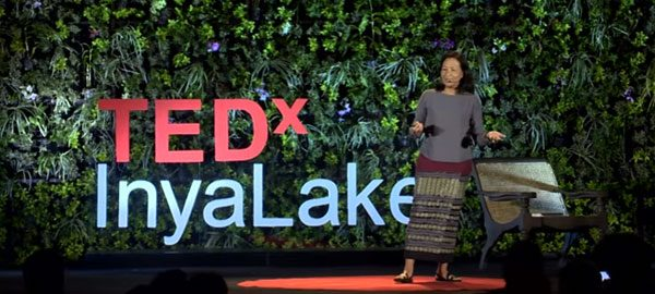 Designing for rural people in Myanmar - TEDxInyaLake