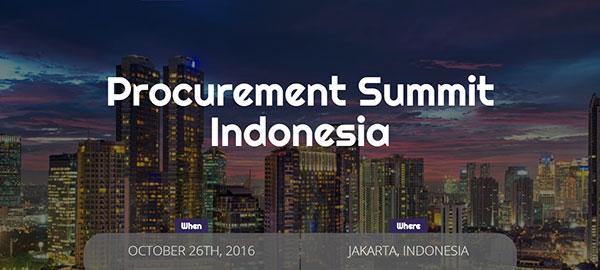Procurement Summit Indonesia