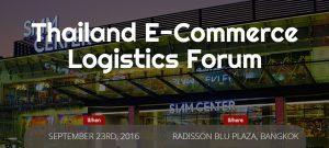 Thailand E-Commerce Logistics Forum