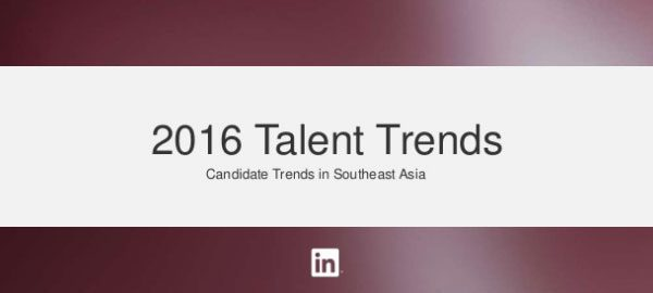 Southeast Asia talent trends 2016