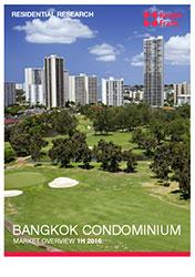 Bangkok condominium market overview - H1 2016 report