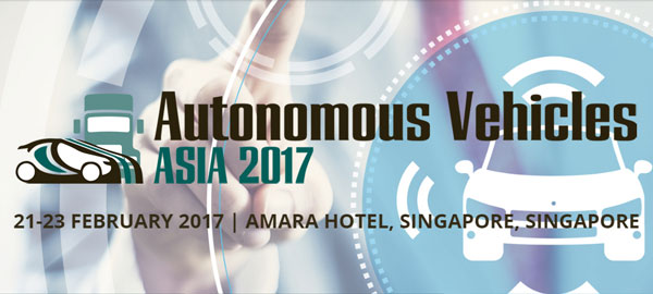Autonomous Vehicles Asia 2017