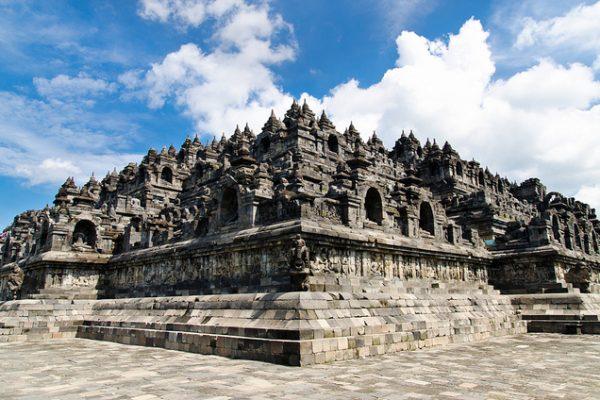 Borobudur Temple, Central Java, Indonesia