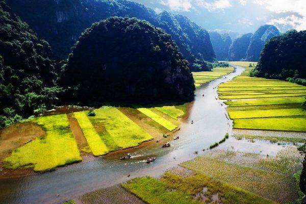 Trang An Landscape, Vietnam