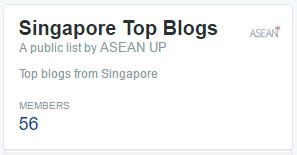 Singapore bloggers list