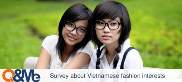 Vietnam fashion survey