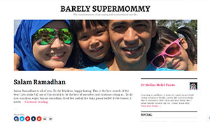 Barely Supermommy
