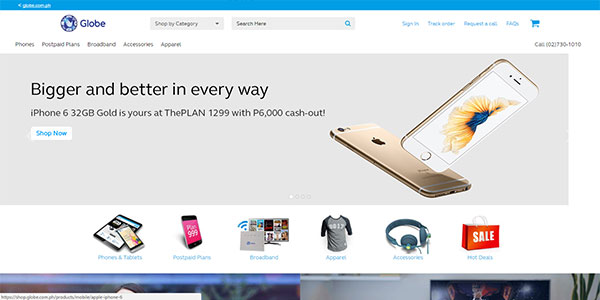 Globe Online Shop