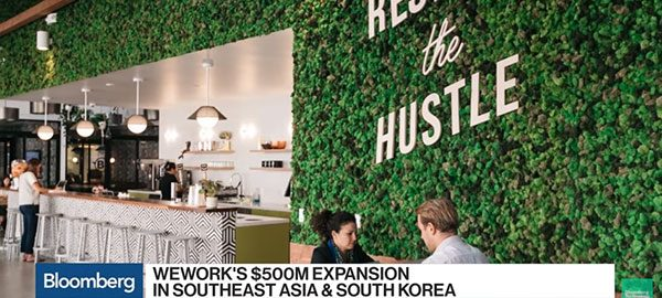 Co-working in Southeast Asia