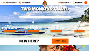 Two Monkeys Travel