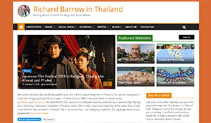 Richard Barrow in Thailand
