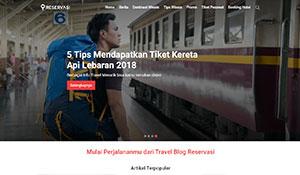 Reservasi Blog