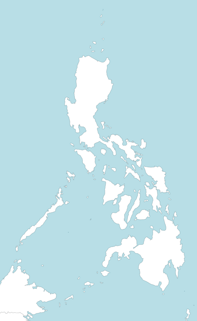 6 free maps of the Philippines - ASEAN UP Philipines Map on