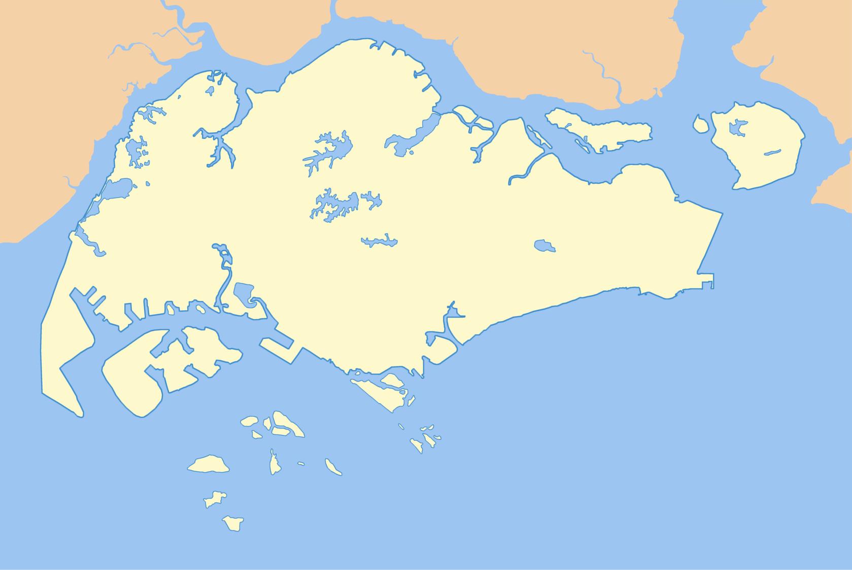 4 free maps of Singapore ASEAN UP